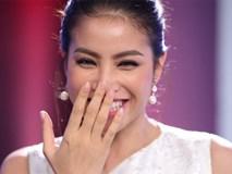 Hoa hậu Phạm Hương giật thót vì bị trai lạ tỏ tình trên sóng truyền hình