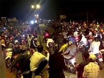 Hơn nghìn 'sói đêm' cưỡi 'cọp' phong tỏa quốc lộ để đua xe