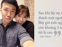 Hài hước cuộc hôn nhân thích bóc mẽ 'thói hư tật xấu' của Trấn Thành và Hari Won