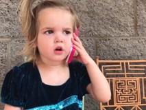 Clip bé gái 2 tuổi 'dằn mặt bạn trai' khiến cộng đồng mạng xôn xao