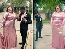 Bạn gái bị chê béo trong chiếc váy dạ tiệc, chàng trai liền lên tiếng khiến những kẻ vô duyên đứng hình