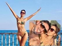 Siêu mẫu Hà Anh diện bikini nóng bỏng, tận hưởng kỳ nghỉ lãng mạn bên chồng