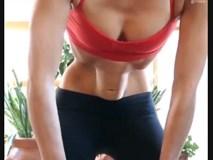 Bài tập thở yoga đảo bụng gây sốt mạng xã hội