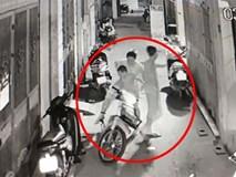 Đôi vợ chồng mang theo con nhỏ đi ăn trộm bị camera giám sát phát hiện