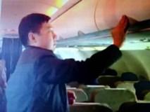 Tiểu xảo của vị khách gian manh người Trung Quốc trên máy bay