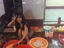 """""""Hot girl rửa bát"""" Việt bất ngờ được báo Hàn khen xinh, chăm chỉ"""