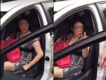 """Sự thật vụ """"kiều nữ"""" Hải Dương đâm gãy chân CSGT rồi cố thủ trong xe"""