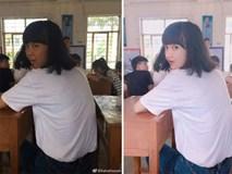 """Loạt ảnh trước và sau khi photoshop của con gái """"gây bão"""" mạng"""