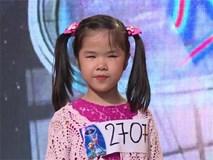 Cô bé khiếm thị lay động hàng triệu khán giả truyền hình