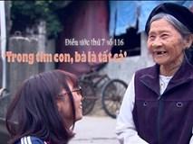 Điều ước cho bà ngoại 75 tuổi một mình nuôi cháu gái mồ côi
