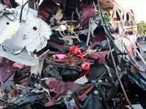 Xe đầu kéo chạy 105 km/h khi đối đầu ôtô khách khiến 11 người chết