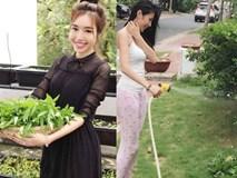 Sống trong biệt thự tiền tỷ, Thủy Tiên, Elly Trần có thú vui nông dân như thế này!