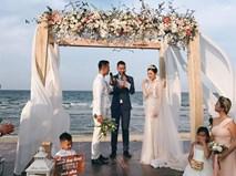 """Đám cưới được hội chị em """"hóng"""" nhất hôm nay của Hằng Túi diễn ra hoành tráng thế này đây"""