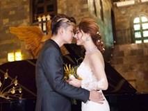 Ảnh cưới đẹp như mơ của Lâm Khánh Chi và ông xã điển trai