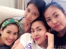 Vợ chồng Tăng Thanh Hà 'trốn' con tụ tập bạn bè dịp cuối tuần