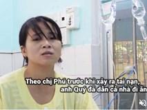 Vợ tài xế xe tải gây tai nạn làm 13 người chết thay chồng xin lỗi