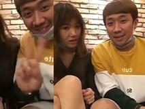 Lần thứ n, Trấn Thành tung clip 'tố cáo' bà xã Hari Won dữ dằn chuyên đánh đập bạn đời