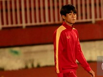 Thần đồng của bầu Đức buồn não nề trong buổi tập của U20 Việt Nam