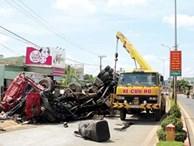 Vụ tai nạn thảm khốc 13 người chết: Xe tải có vấn đề trước khi gây tai nạn?