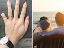 Bảo Duy đăng hình đeo nhẫn cưới và úp mở ảnh cô dâu sau khi ly hôn Phi Thanh Vân