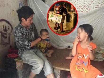 """Ông bố địu con nhặt rác ở Hà Nội từng bị dân mạng """"bóc phốt"""" giờ ra sao?"""