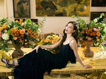 'Quý cô' Hồ Ngọc Hà xinh đẹp bên bàn tiệc đầy hoa