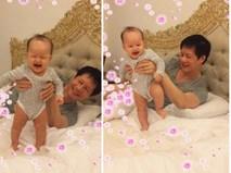 Phan Như Thảo mang nặng đẻ đau nhưng con gái lại 'dính bố như keo dán sắt'