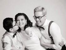 Cát Phượng cực ngọt ngào bên người yêu Kiều Minh Tuấn và con trai