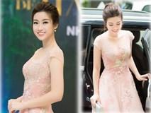 Hoa hậu Mỹ Linh ngọt ngào như nàng công chúa tại sự kiện