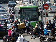 Buýt nhanh 'lãng phí' 50% thời gian di chuyển