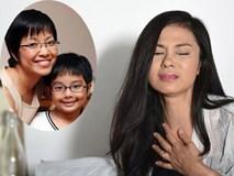 Việt Trinh không thể ngừng khóc trước câu hỏi của con trai MC Thảo Vân