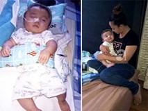 """Bé Phạm Đức Lộc đã xuất viện tại Singapore, được về """"ngôi nhà mới"""""""