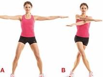 Đánh bay mỡ thừa ở cánh tay chỉ với 10 phút một ngày với 5 động tác đơn giản