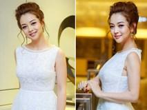 Hoa hậu Jennifer Phạm đẹp hút hồn khi trở lại làm MC