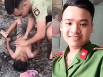 Cảm động chàng công an trẻ nỗ lực cứu sống bé trai bị đuối nước
