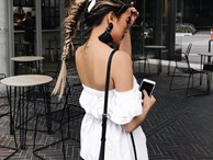 Chẳng ai bảo ai nhưng các quý cô châu Á diện cực nhiều đồ trắng cho street style tuần qua
