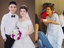 Chuyện thật như đùa: Cô dâu trở dạ phải vào viện sinh em bé trong ngày cưới