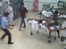 Côn đồ lại xông vào bệnh viện chém tơi tả bệnh nhân đang cấp cứu