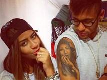 Neymar đã xăm đủ hình thành viên gia đình lên cơ thể