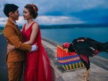 """""""Người thứ ba"""" trong ảnh cưới của cặp đôi Phú Yên khiến dân mạng bấm like nhiệt tình"""