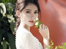 Á hậu Thùy Dung hóa nàng công chúa yêu kiều với loạt váy trắng
