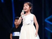 Cô bé khiếm thị Minh Hiền khiến ban giám khảo lặng người khi tiếp tục hát về mẹ