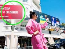 Đại diện truyền thông của Lý Nhã Kỳ nói gì về tấm pano tại Cannes?