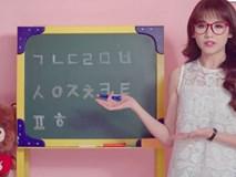 Hari Won làm vlog dạy tiếng Hàn cho trẻ em Việt Nam