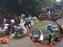 """Người sống sót duy nhất vụ xe tải đâm vào núi: """"Người dân mang cả công nông đến hôi của"""""""