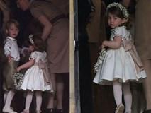 Hoàng tử nhí George và em gái cực đáng yêu trong vai trò phù dâu cho dì Pippa Middleton