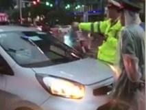 Đã xác định danh tính lái xe taxi vi phạm cố tình cản trở đoàn xe ưu tiên
