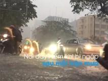 Ngập nước, kẹt xe khắp Sài Gòn sau cơn mưa lớn