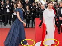 Sao bức xúc vì bị cấm đi giầy bệt trên thảm đỏ Cannes