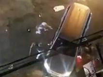 Clip: Ô tô, xe máy rượt nhau như phim trên phố Biên Hòa